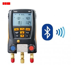 Testo 550 Bluetooth 2 Way Manifold
