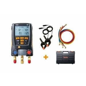 Testo 550 Digital Refrigeration Manifold Kit