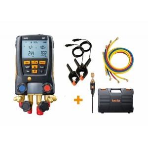 Testo 557 Digital Refrigeration Manifold Kit