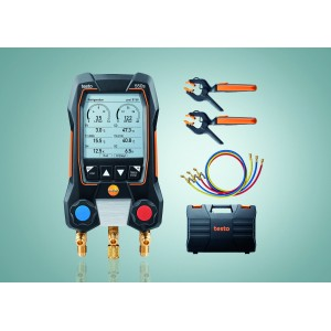 testo 550s Smart Set - Wireless Temp Probes, Hoses & Case