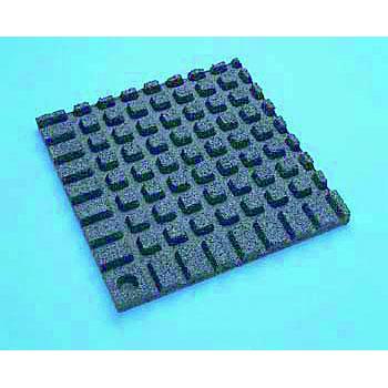 Anti Vibration Mats Plain Tile