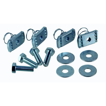 Flexi Foot Components with Spring Bolts (To secure outdoor AC unit)