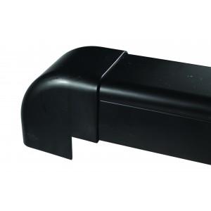 Clima Plus Black External Elbow 90 x 65