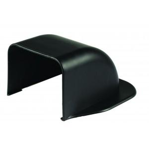 Clima Plus Black Wall Bend 90 x 65