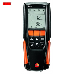 testo 310 - Flue Gas Analyser (Printer Kit)