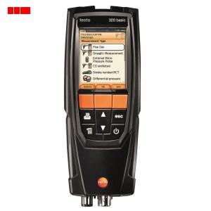 testo 320B - Flue Gas Analyser (Standard Set)