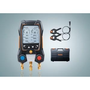 testo 550s Basic Manifold Set - Cable temp probes & Case