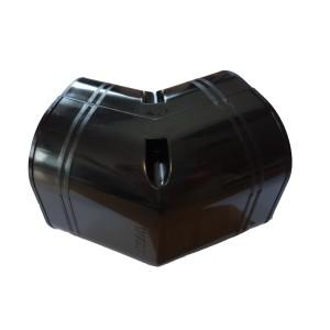 Inaba Denko Black 75mm Vertical elbow 45 deg