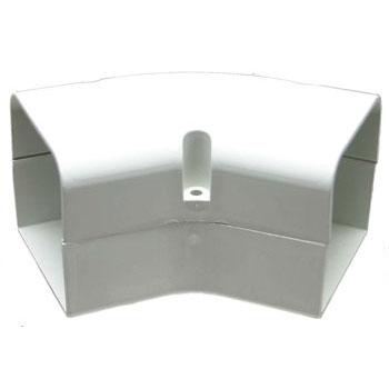 70mm - 45 Degree Flat Bend SpeediDuct (Ivory)
