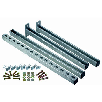Pump House Cantilever Arm Kit - 600mm Arms 750mm Upright
