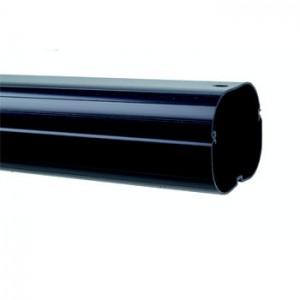 Inaba Denko Black 75mm Straight Trunking 2M