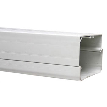 Straight Duct Trunking - Ivory