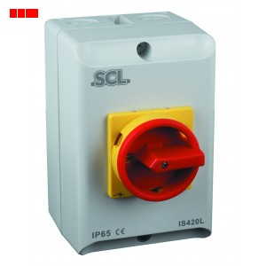 20A 3 Pole Isolator Switch