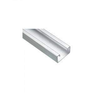 Aluminium Vibra Clamp Channel - 3 Metres