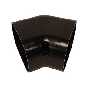 Slimduct - 100mm 45 Deg Elbow Bend - Black