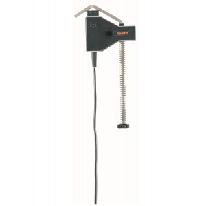 Testo Temperature Probe With Clamping Bracket