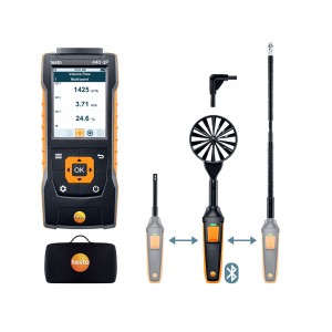 Testo 440 Delta P Air Flow ComboKit 2 With Bl