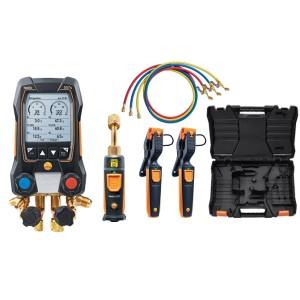 testo 557s Smart Vacuum Set Wireless Vacuum, Probes & Hoses