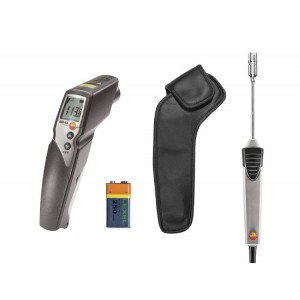 Testo 830-T4 Infrared Thermometer & cross ban