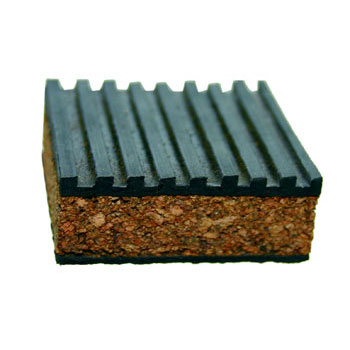 Cork Anti Vibration Pads 100 x 100 x 23mm